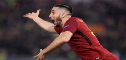 Roma-Barcellona 3-0 : Messi eliminato