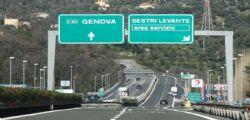 Autostrada A12 Genova Sestri Levante chiusa dal 5 al 7 febbraio
