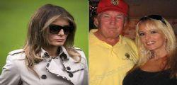 Melania sulla presunta relazione di Donald Trump con la porno star Stormy Daniels