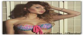 Claudia Parini è la nuova testimonial di Cotazur Beachwear