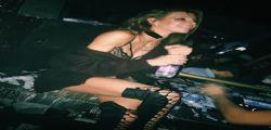 Giulia Calcaterra super sexy al Peter Pan di Riccione