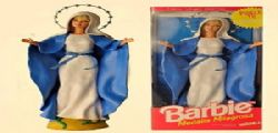 Barbie come la Madonna : si infuriano i fedeli