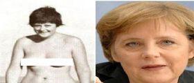 Angela Merkel senza veli da giovane!