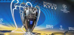 Sorteggi quarti di finale Champions League : orario, squadre e diretta streaming