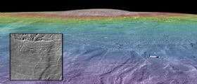 Marte : Un ambiente abitabile alle pendici di Arsia Mons