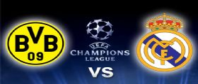 Borussia Dortmund - Real Madrid Streaming e Diretta Champions League