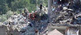 Amatrice : Nuova scossa di terremoto di magnitudo 4.1 nella notte
