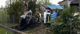 Padova | Auto si schianta contro una casa e prende fuoco : Due vittime carbonizzate
