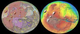 Marte: nuova mappa geologica globale by USGS