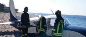 Cirò Marina: Aereo biposto precipita sul tetto di un ristorante chiuso, morto il pilota