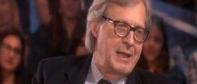 Vittorio Sgarbi a Le Invasioni Barbariche : Alfano mi fa schifo e la Cancellieri è una puzzona