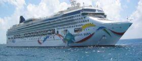 Nave da crociera si incaglia su barriera corallina alle Bermuda : A bordo oltre 3700 passeggeri