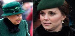 Kate Middleton non fa molto! critiche della Regina alla duchessa di Cambridge