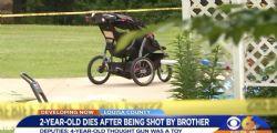 Virginia : Bambino di 4 anni spara e uccide il fratellino Tyson Aponte