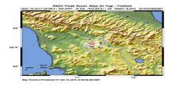 Terremoto Oggi Toscana : 80 scosse tra Firenze e Siena