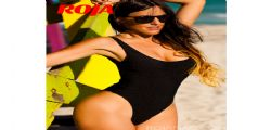 Claudia Romani sexy super lato B per Roja Magazine
