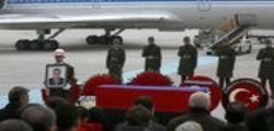 Ambasciatore Russo ucciso in Turchia : accolta a Mosca la salma di Andrei Karlov