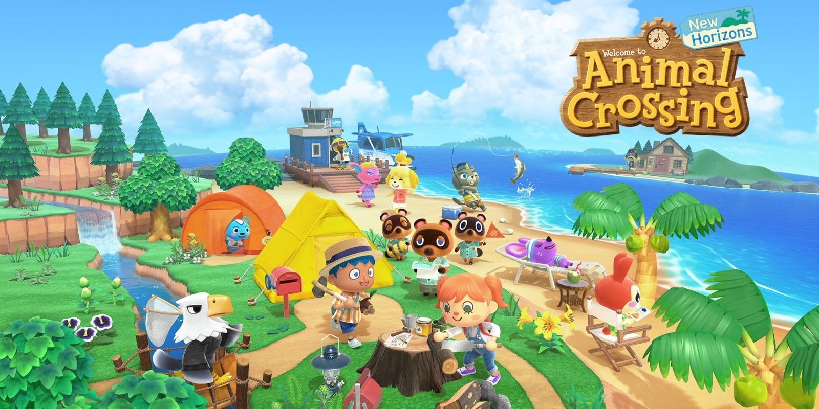 Arriva Animal Crossing: New Horizons