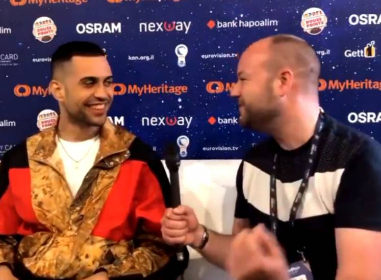 Non capito un c****! Mahmood sbotta nell'intervista in inglese all'Eurovision