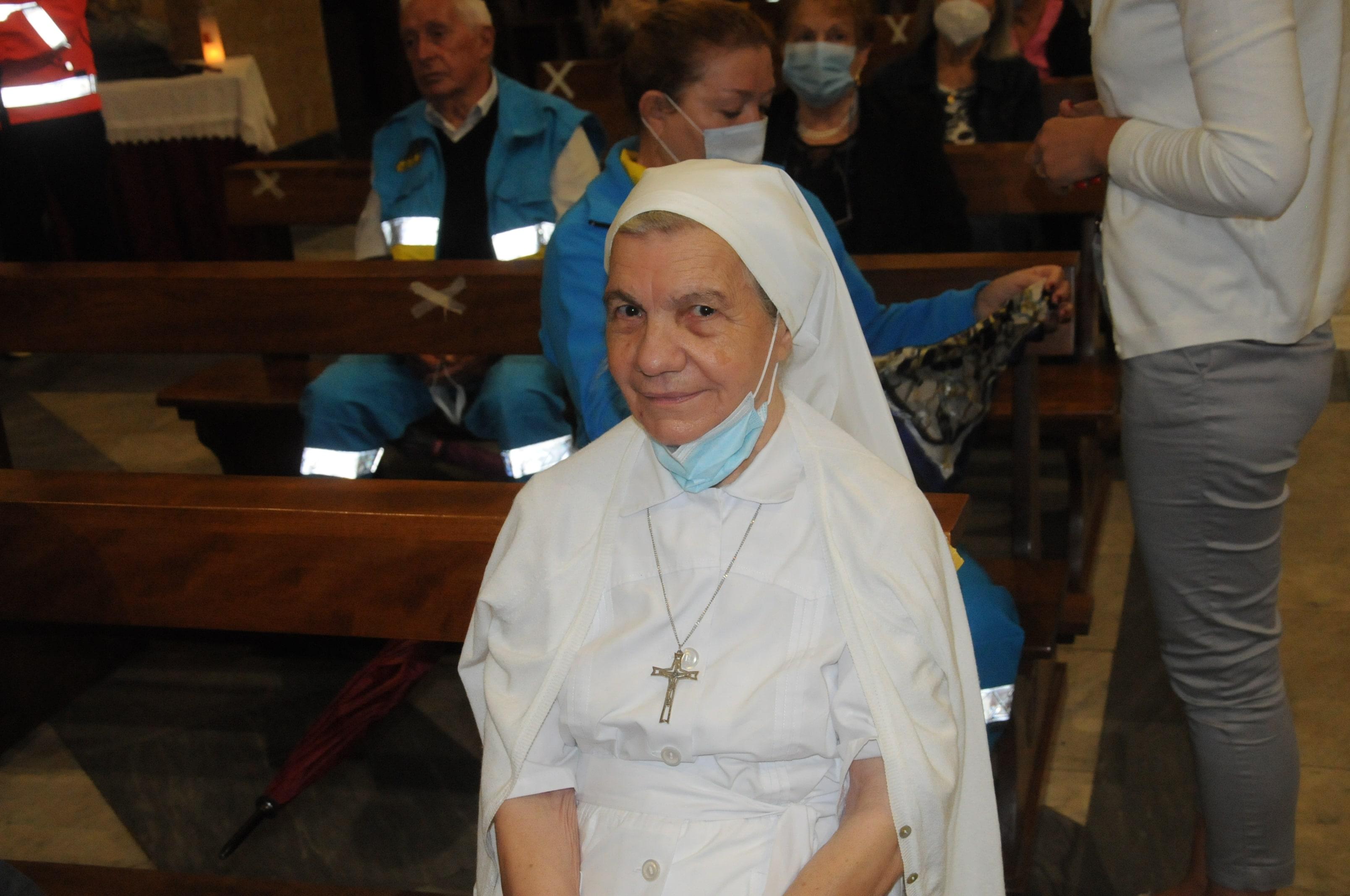 Grande festa a Bagnone della Confraternita di Misericordiua in occasione della ricorrenza della protettrice:  B.V. Vergine Addolorata