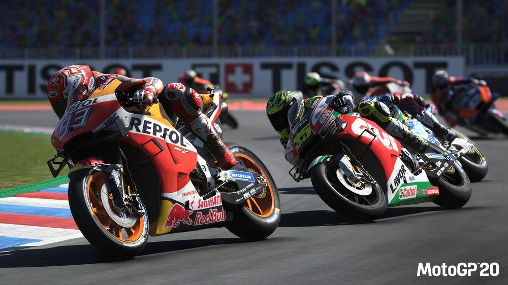 MILESTONE TORNANA IN PISTA CON MotoGP 20