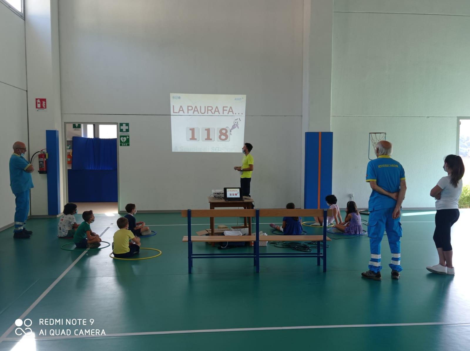 Con una lezione sul soccorso terminato a Bagnone in Lunigiana con successo il Summer Campo 2020 della Misericordia
