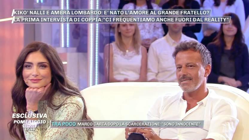 Ambra Lombardo smentisce la rottura con Kikò: Non ci siamo m