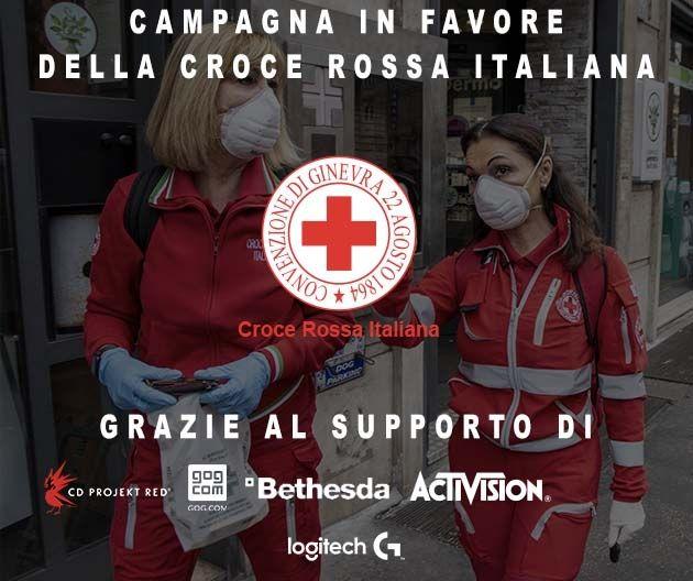 Bethesda e altre aziende del gaming industry unite per supportare la Croce Rossa italiana