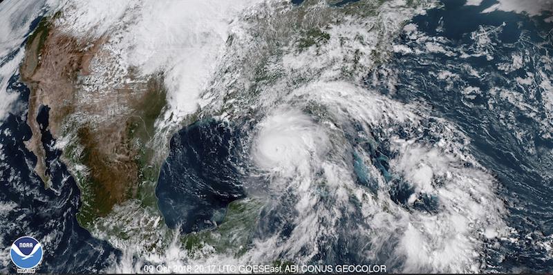 Uragano Michael    sale a 6 il numero di vittime in 3 Stati