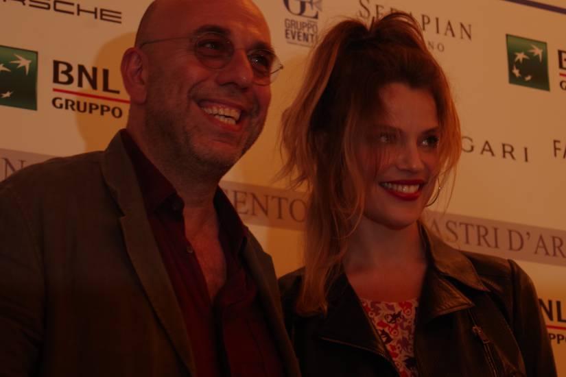 Micaela Ramazzotti e Paolo Virzì di nuovo insieme