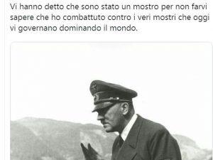 Prof dell'università di Siena elogia Hitler! Sequestro del suo profilo Twitter