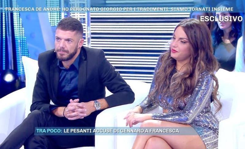 """""""Querelati! Che vergogna""""  Francesca De André e Giorgio Tambellini    tutta la verità sul"""