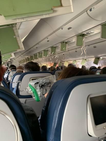 Usa, panico su un volo Delta: l