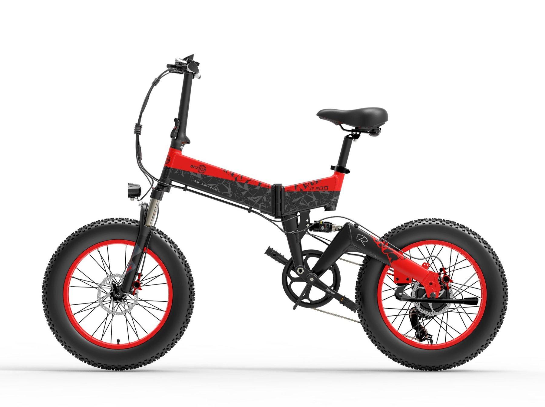 Bici Elettrica Beziors XF200 : Motore da 1000 W fino a 40 km/h