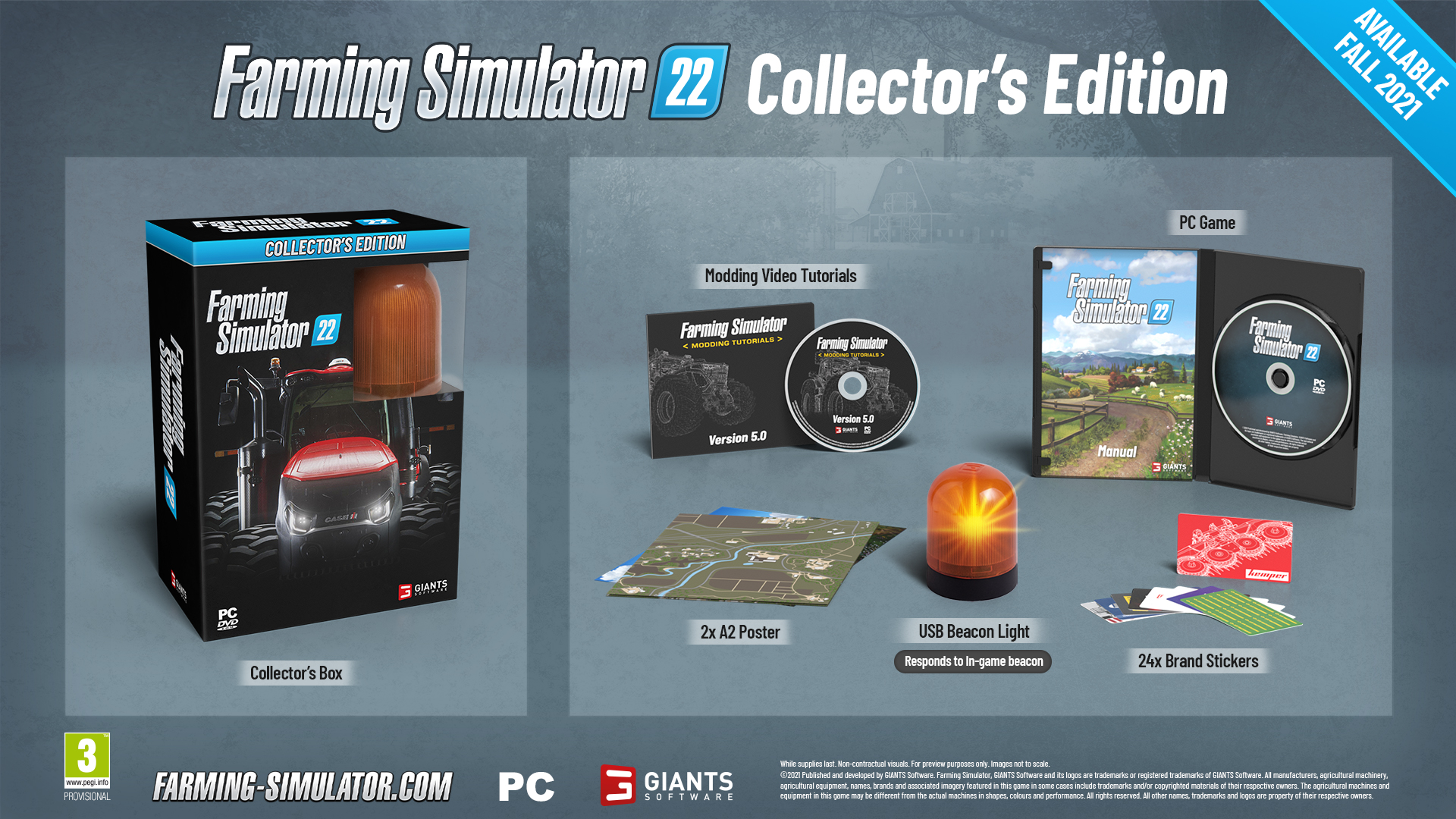 Farming Simulator 22 Collector s Edition