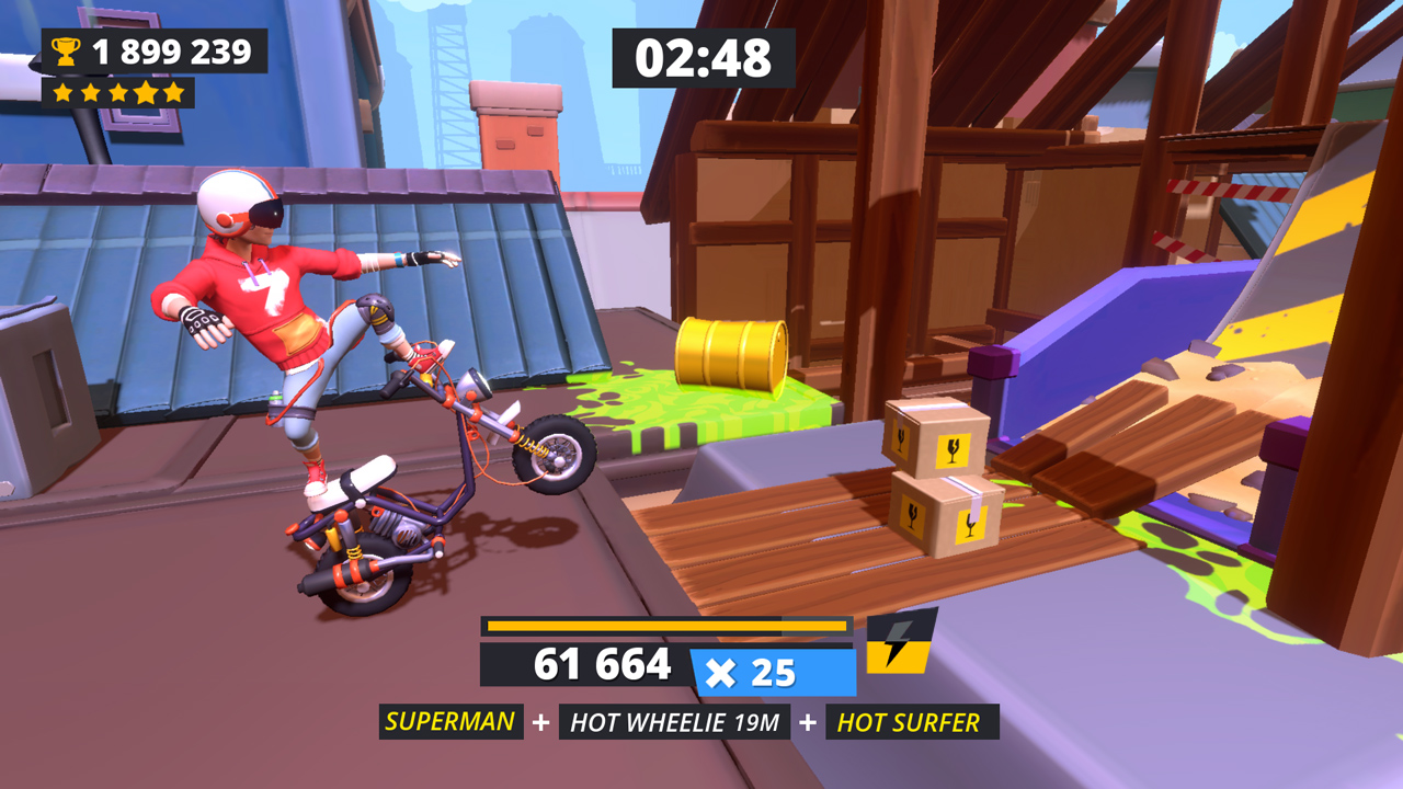 Urban Trials Tricky Deluxe Edition