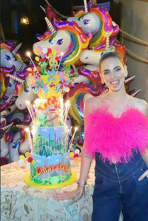 Vergogna! Chiara Ferragni festeggia il compleanno e affitta