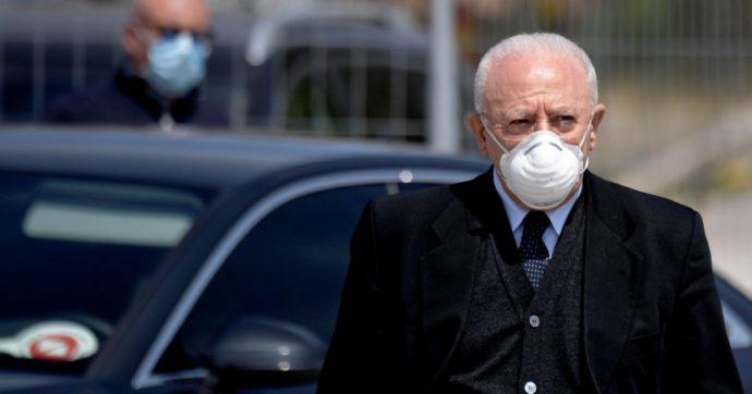 Il governatore De Luca indagato per falso e truffa : Favorì quattro vigili urbani