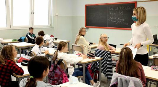 Scuola, Green pass : 217mila professori ancora non vaccinati