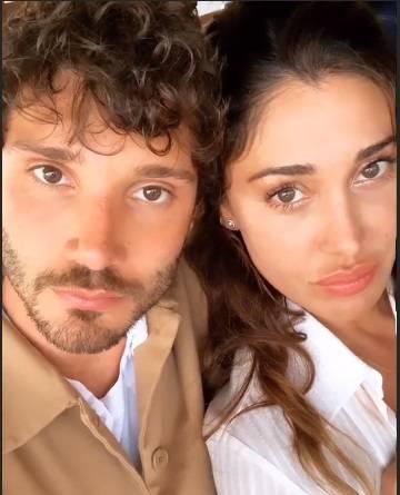 Belen Rodriguez e Stefano De Martino insieme anche nel lavor