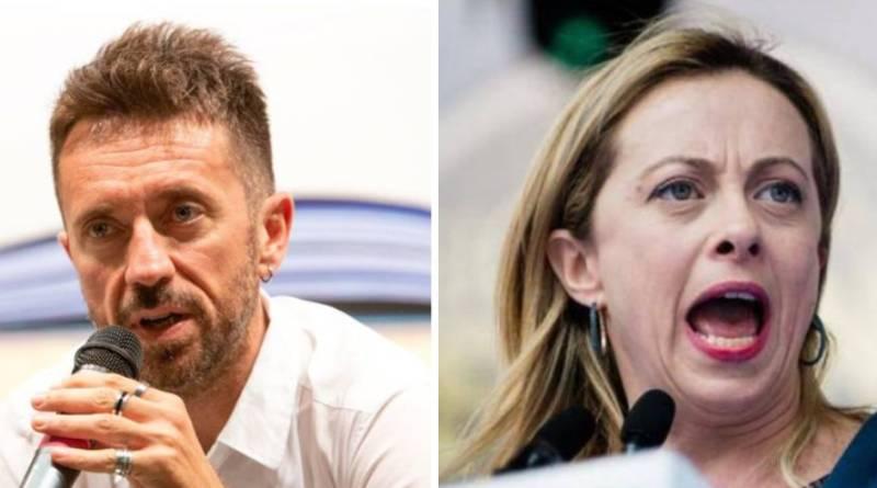 Andrea Scanzi a Giorgia Meloni: Sei alla camera non al mercato del pesce!