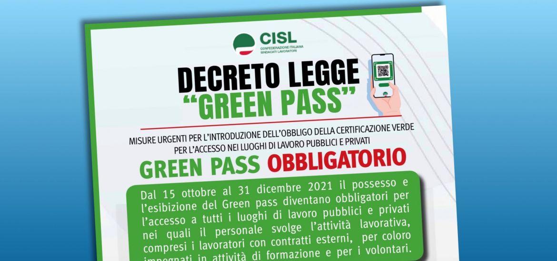 DECRETO GREEN PASS  : UNA NORMA DI BUON SENSO MA GRANDI CRITICITA