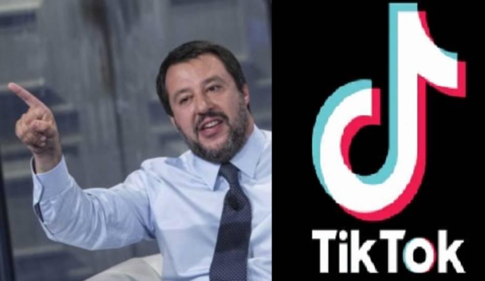 Matteo Salvini sbarca su TikTok: In Italia si arriva con i documenti