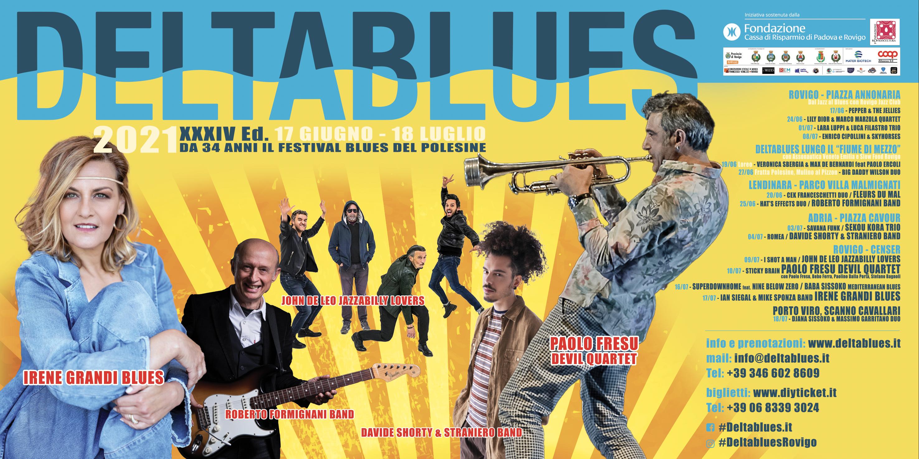 Deltablues 2021, secondo week-end del Festival all'insegna del Blues e del Soul