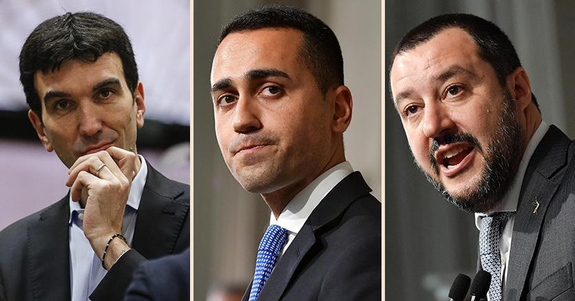 Ultimi sondaggi  |  Lega in calo |  M5S torna primo partito
