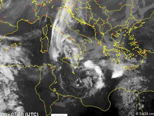 Allerta ciclone Mediterraneo : Ecco dove colpirà