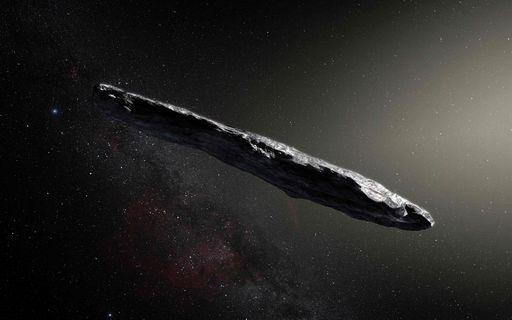 Oumuamua, l'oggetto interstellare forse è artificiale secondo uno studio ...