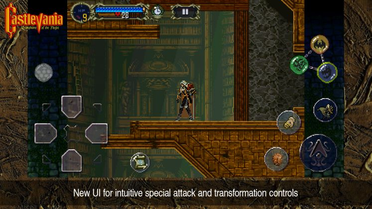 CASTLEVANIA: SYMPHONY OF THE NIGHT mobile