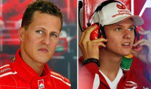 Michael Schumacher, la moglie Corinna in uno dei rarissimi a