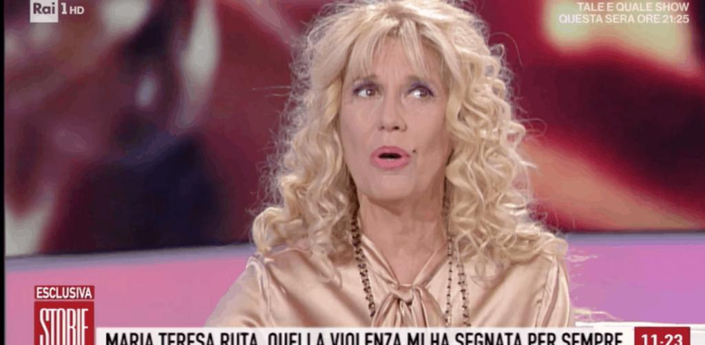 """Devastata"". Choc a Storie italiane: Maria Teresa Ruta, il dramma tenuto ..."